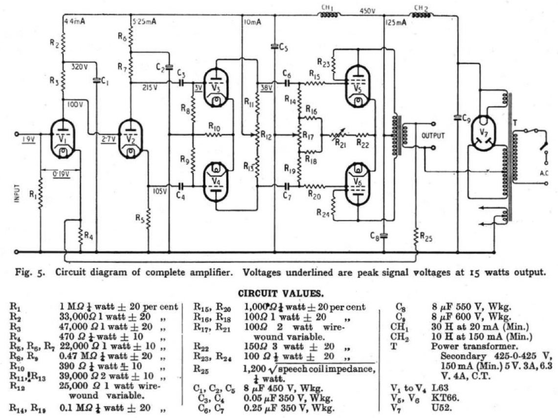 vintage schematic push pull get free image about wiring diagram
